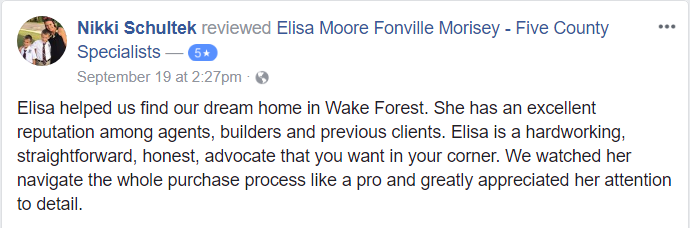Elisa Moore 5 Star Review