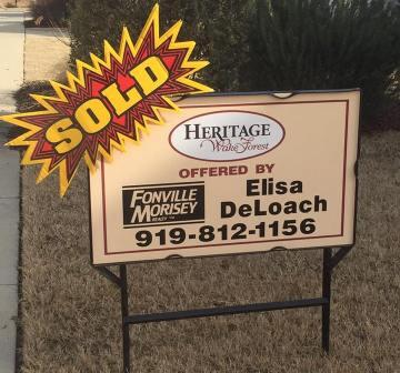 Heritage Wake Forest Home Sold By Elisa Moore (DeLoach)