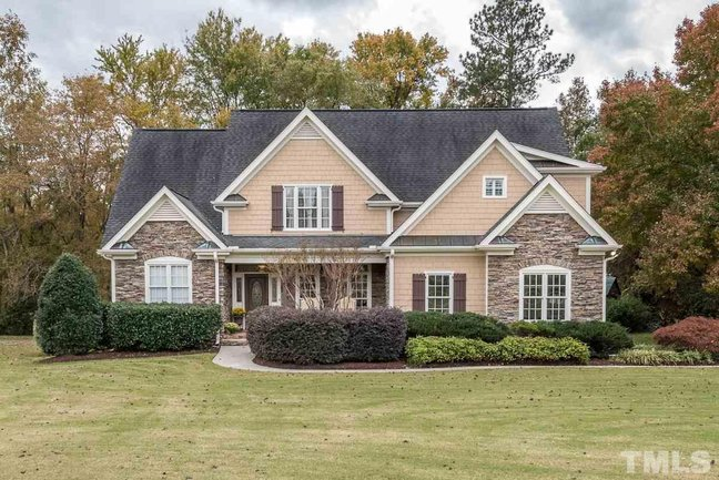 Tanners Creek Wendell NC Home