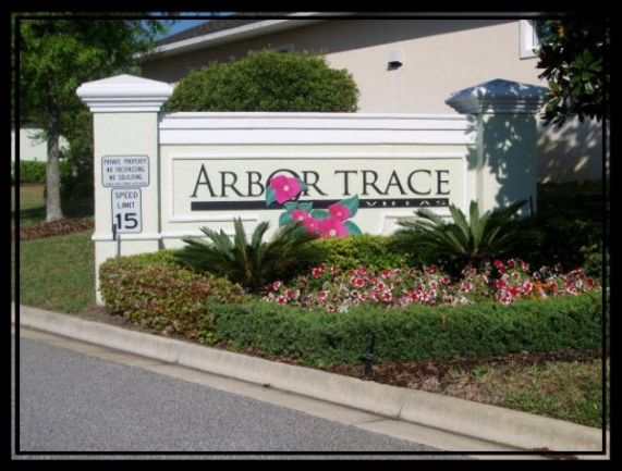 Arbor Trace Entrance Monument