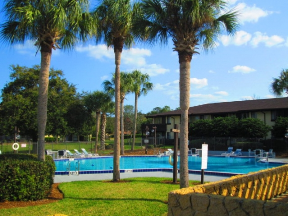 Palm Club community pool