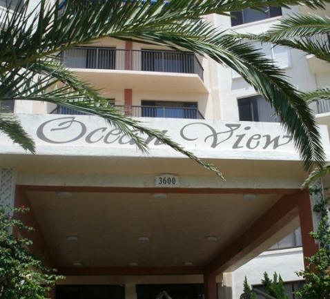 oceanview manor flagler beach entrance