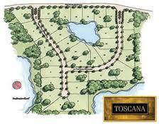 toscana site plan
