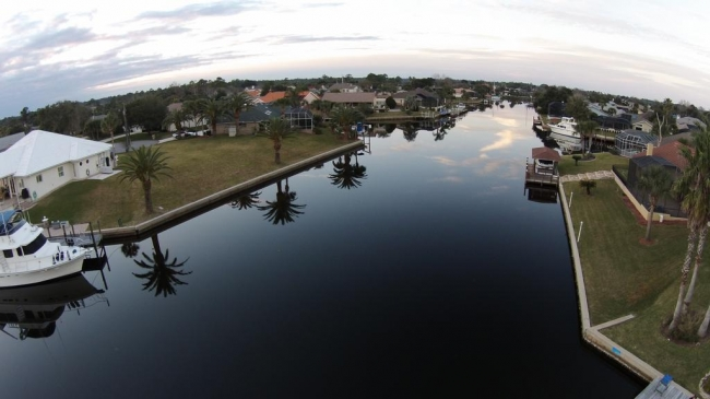 Saltwater Canals Palm Coast