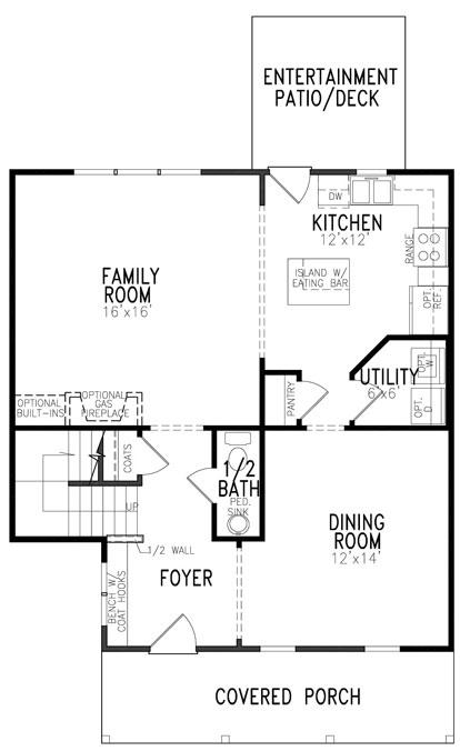 Floyd Floor Plan First Floor