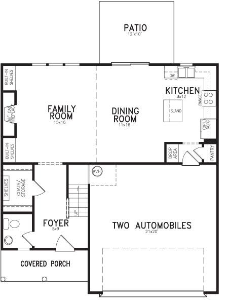 Player Floor Plan First Floor