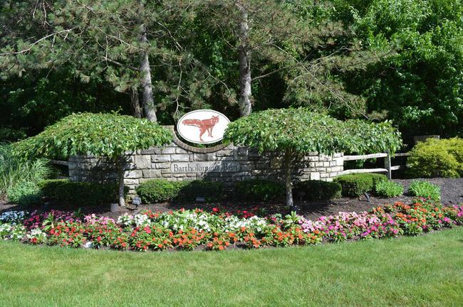 Bartholomew Run Entrance sign