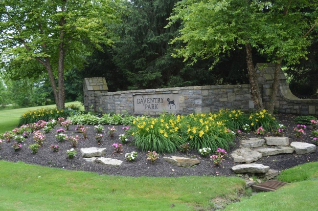 Welcome to Daventry Park in Powell Ohio