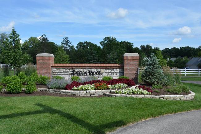 Falcon Ridge Powell Neighborhood Sign