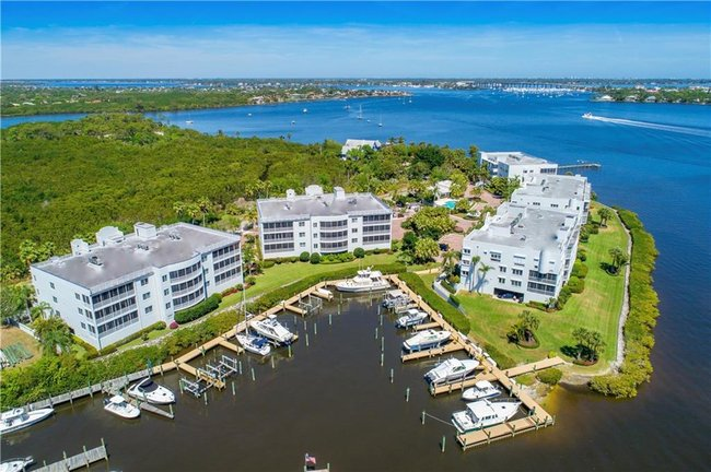 the Admiralty Luxury Waterfront Condos in Palm City FL