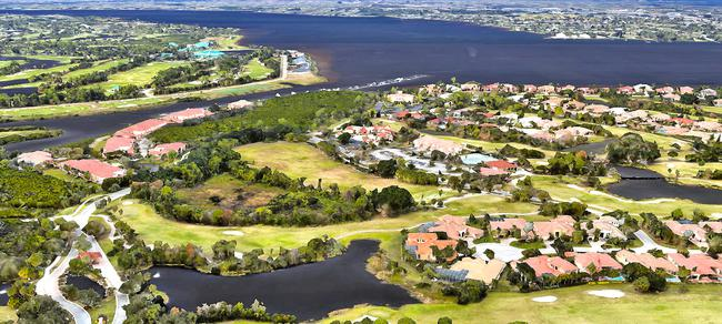 Carriage Hill condos in the Palm Cove Golf and Yacht Club in Palm City Florida