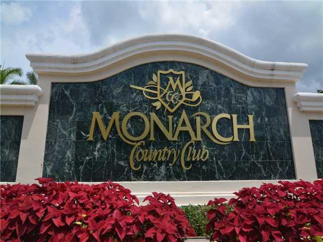 Entrance to Monarch Country Club