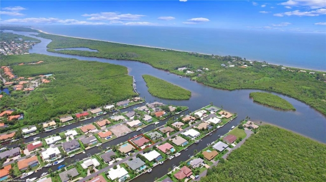 Aerial View of the Soundings in Hobe Sound FL