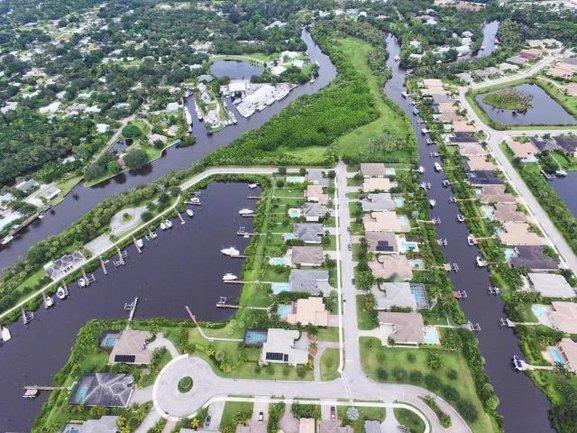 Lost River Plantation Waterfront Homes in Stuart  Florida