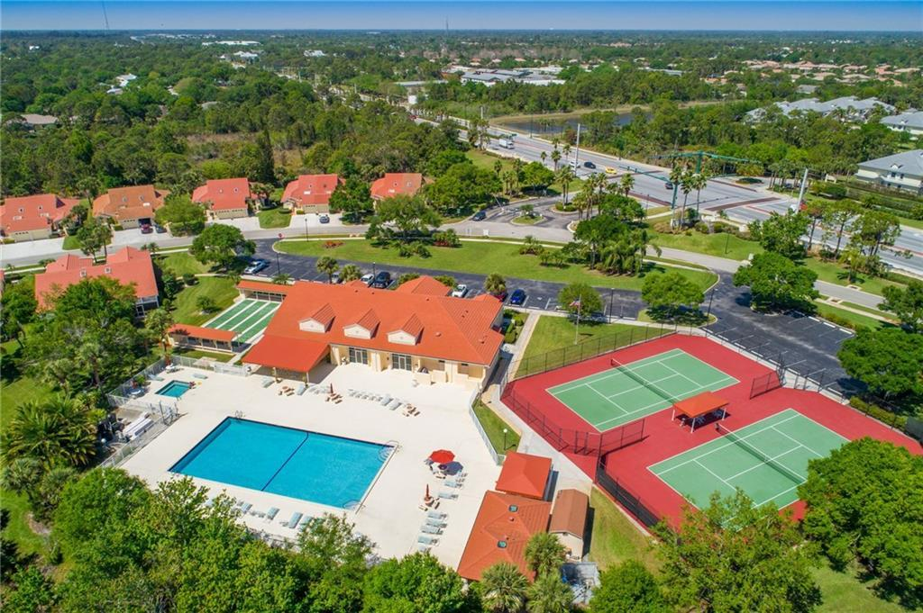Clubhouse and Pool in Whispering Sound Palm City FL
