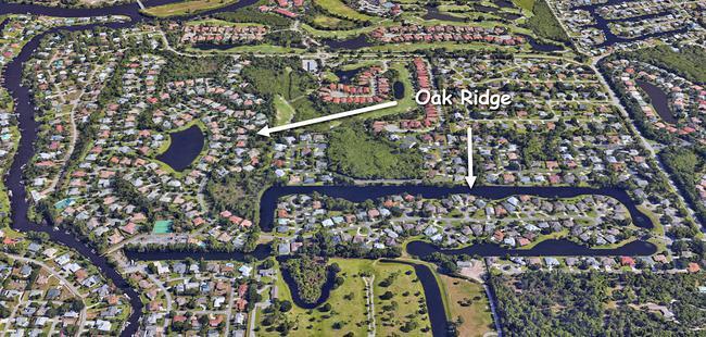Oak Ridge in Palm City Florida