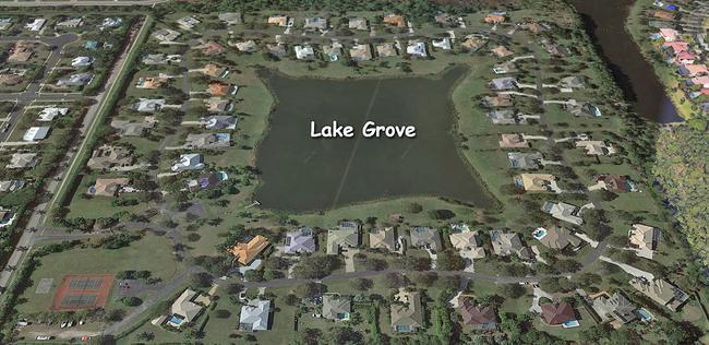 Lake Grove in Palm City Florida