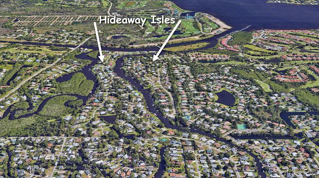 Hideaway Isles in Palm City Florida