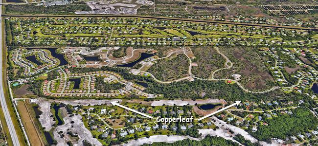 Copperleaf in Palm City Florida