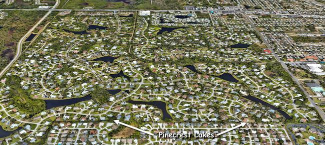 Pinecrest Lakes in Jensen Beach Florida