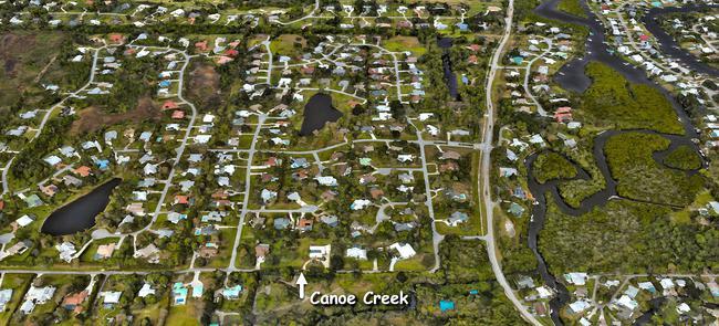 Canoe Creek in Palm City Florida
