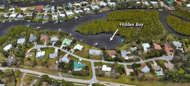 Hidden Bay in Palm City Florida