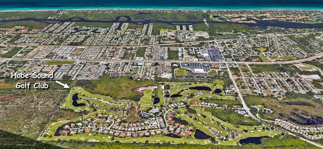 The Hobe Sound Golf Club in Hobe Sound Florida