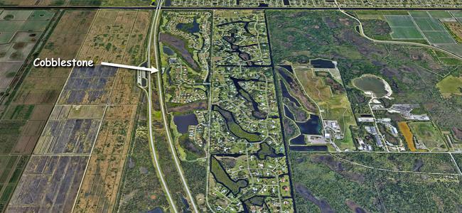 Cobblestone in Palm City Florida