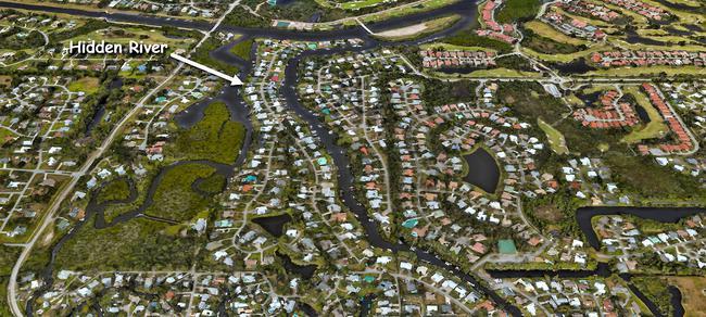 Hidden River in Palm City Florida