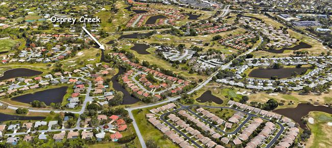 Osprey Creek in Martin Downs in Palm City Florida