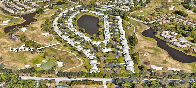Eagle Lake in Martin Downs in Palm City Florida