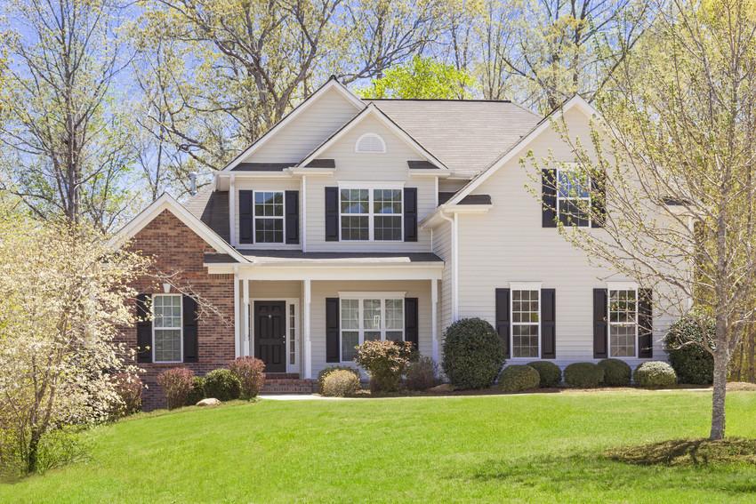 Lovely suburban home.