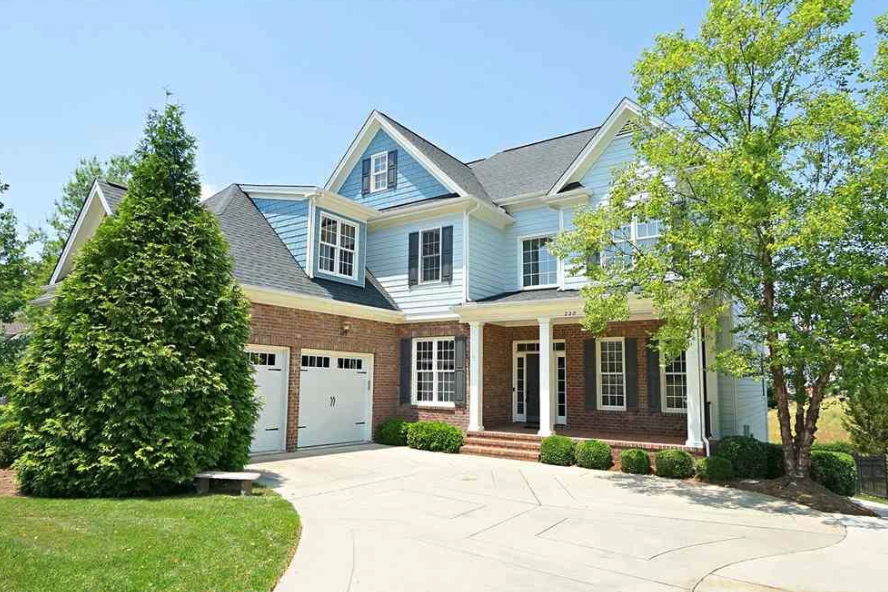 beautiful home for sale in cameron pond cary