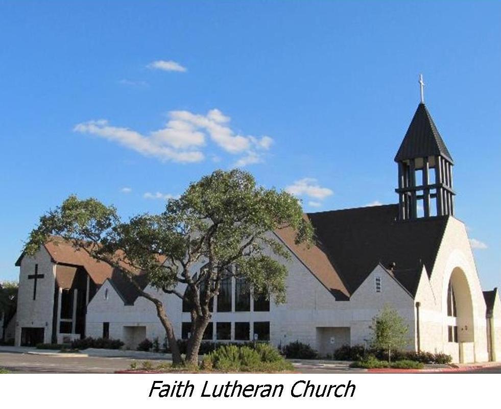Faith Lutheran Church, Georgetown TX