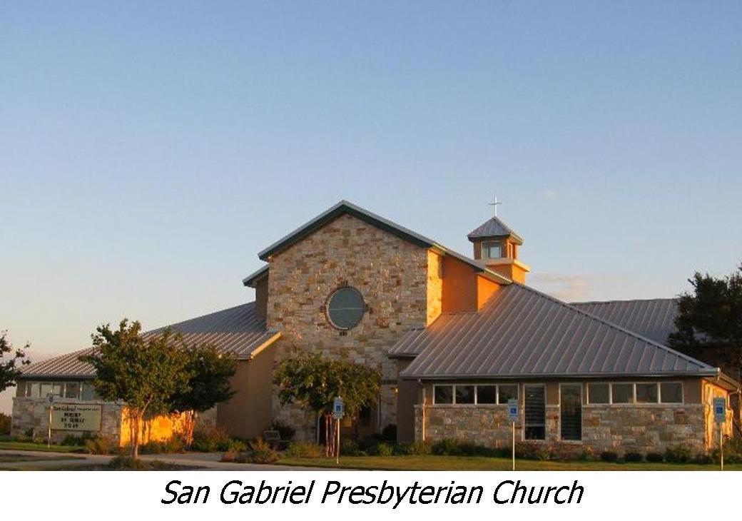San Gabriel Presbyterian Church, Georgetown, TX