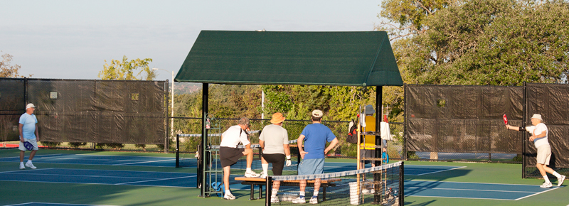 Pickleball Courts, Sun City TX