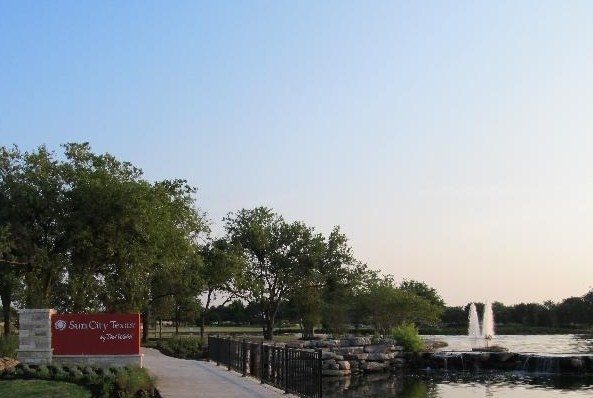 Sun City Texas Entrance
