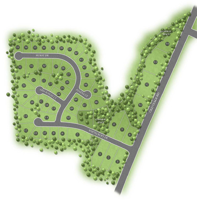 Whitecroft Manor Map