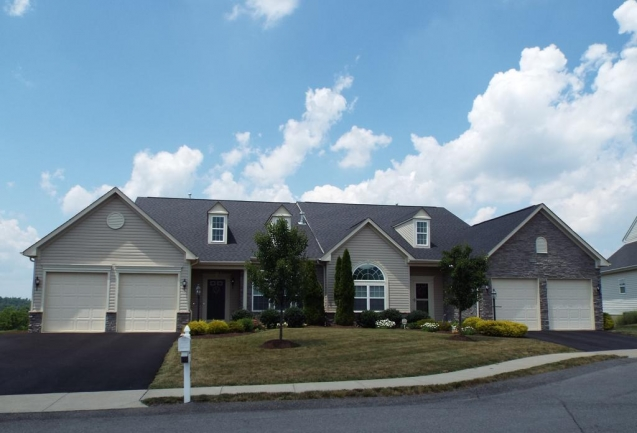 Patio Homes can be found on Montville Drive within The Berkshires