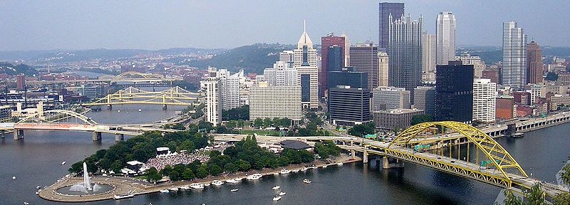Golden Triangle Downtown Pittsburgh