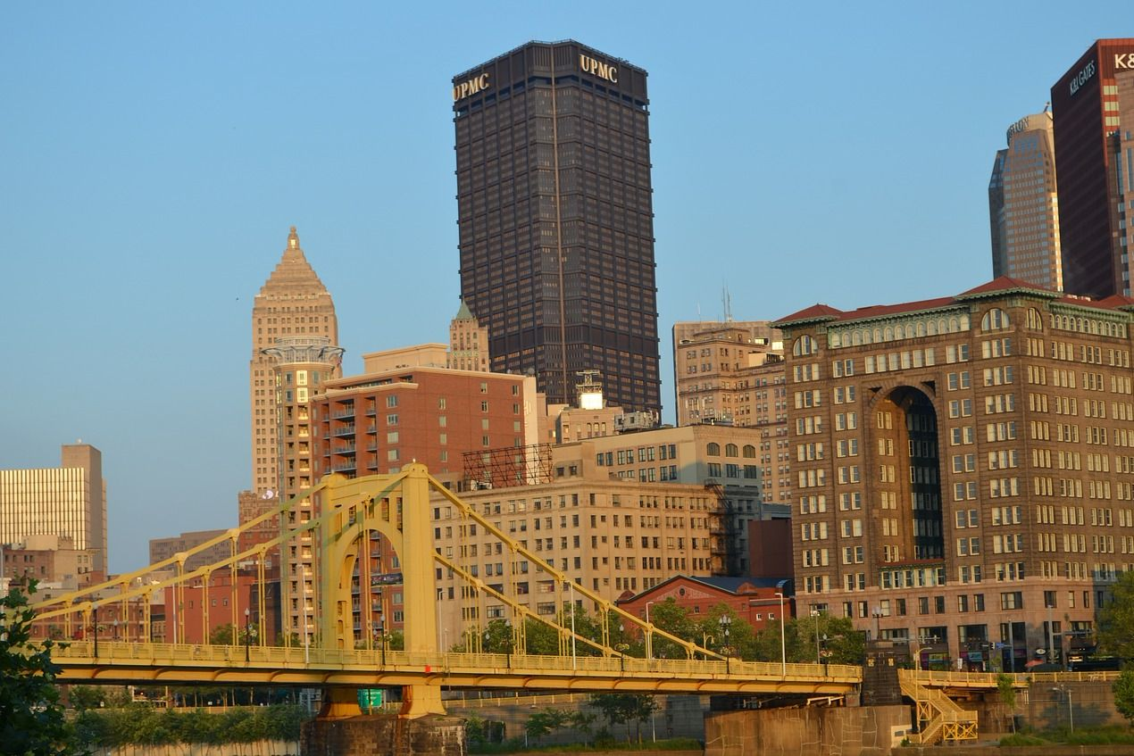 an easy commute into pittsburgh from bridgeville