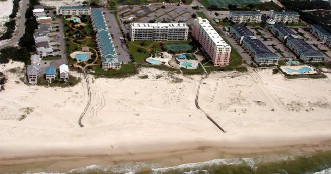 Gulf Shores Plantation Aerial View