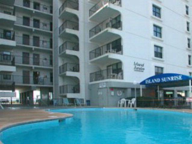 Island Sunrise Gulf Shores Condo Community Pool