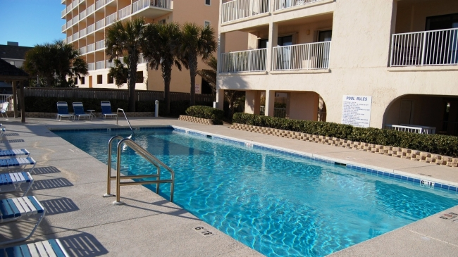 Castaways Gulf Shores AL Condo Community Pool
