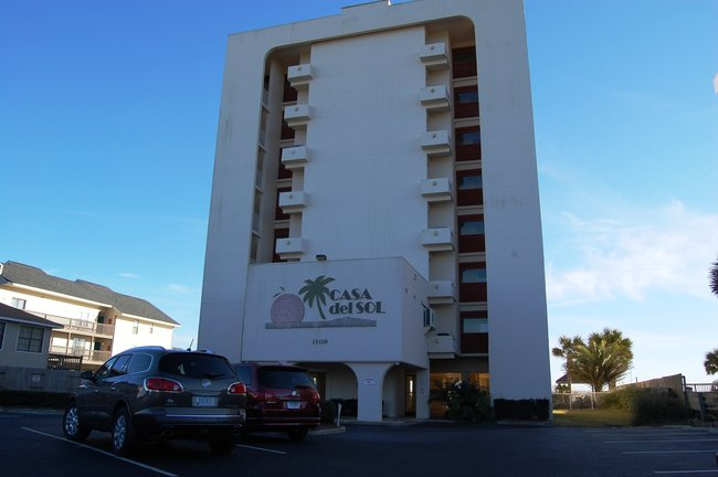 Casa Del Sol Gulf Shores AL Condo Building