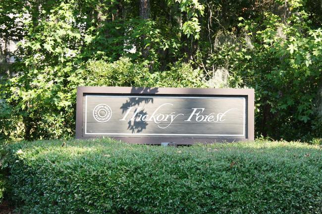 Hickory Forest Plantation Entrance
