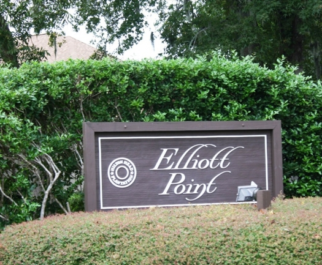 Elliot Point Hilton Head Pltn. Entrance