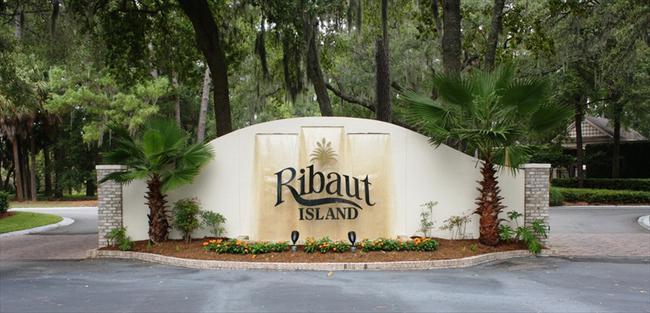 Ribaut Island Hilton Head Pltn Entrance