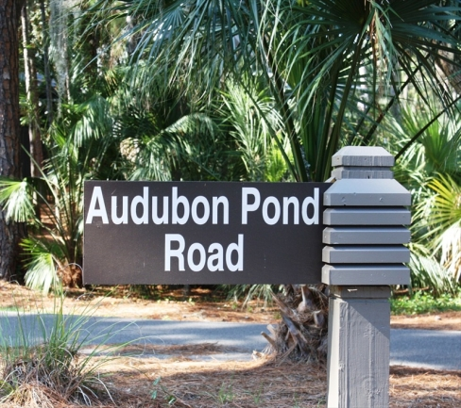 Audbubon Pond Entrance Sea Pines Plantation Hilton Head Island