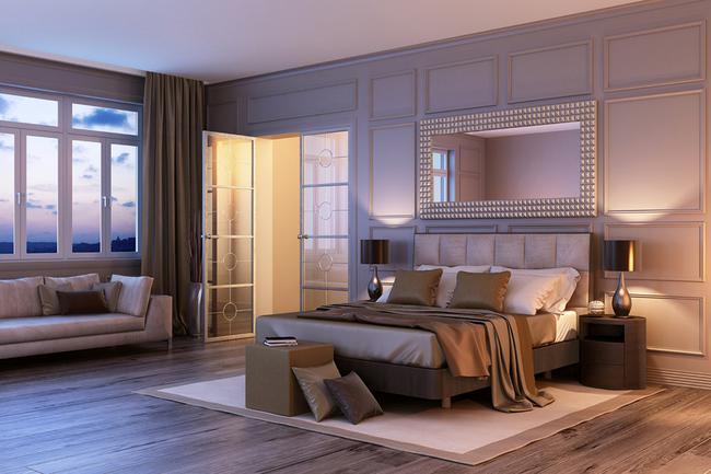 Stunning elegance of a Portofino penthouse.